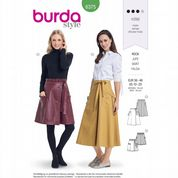 6375 Burda Pattern: Misses' Skirt